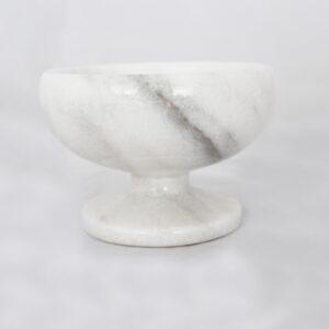 Beyaz Mermer Şekerlik