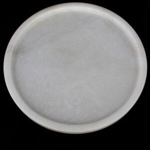 Yuvarlak Beyaz Tepsi