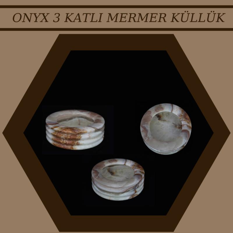 ONYX 3 KATLI MERMER KÜLLÜK